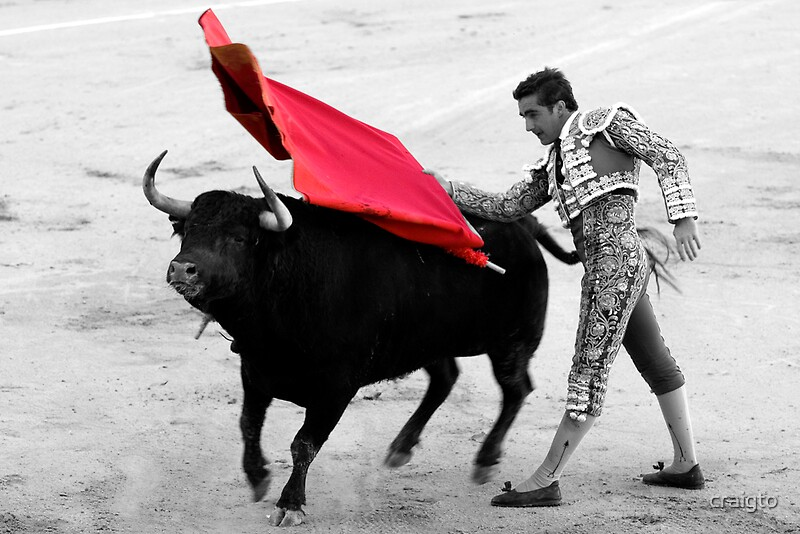 Quot Matador And Bull 5 Quot By Craigto Redbubble