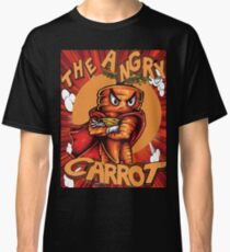 The Angry Carrot / Foodietoon / Red Classic T-Shirt