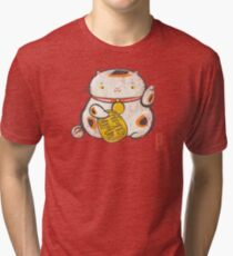 ManekiNeko [Special Lucky Toy Box] Tri-blend T-Shirt