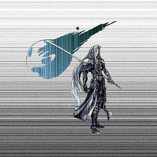 Sephiroth FF7 matrix by Gameart