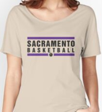 Sacramento Basketball Women's Relaxed Fit T-Shirt
