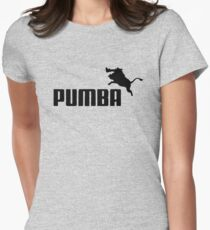pumba Women's Fitted T-Shirt