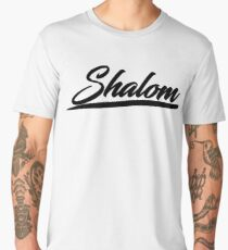 Shalom T-shirt Hebrew Israelites Messianic 12 Tribes Judah Men's Premium T-Shirt