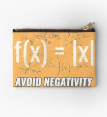 Funny Functions > Avoid Negativity > Math Equations Täschchen