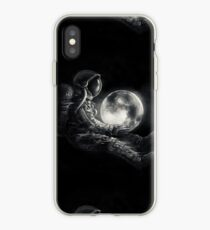Moon Play iPhone Case