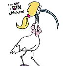 Not a bin chicken by Matt Mawson