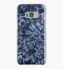 Vintage Constellations & Astrological Signs | White Samsung Galaxy Case/Skin