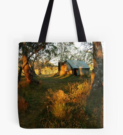 First Rays, Howitt Hut Victorian High Plains Tote Bag
