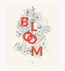 Bloom #redbubble Photographic Print