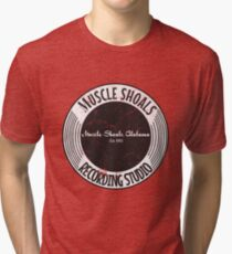 Muscle Shoals Recording Studio Tri-blend T-Shirt