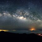 Milky Way from Mauna Kea on Hawaii by Christopher Johnson