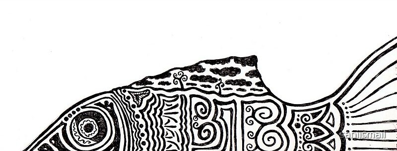 The Pattern Fish by saniismail