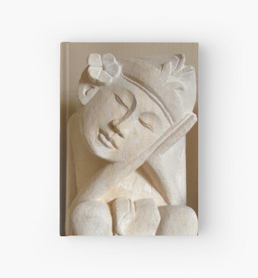 Balinese dreamer handmade sand stone statue by patjila