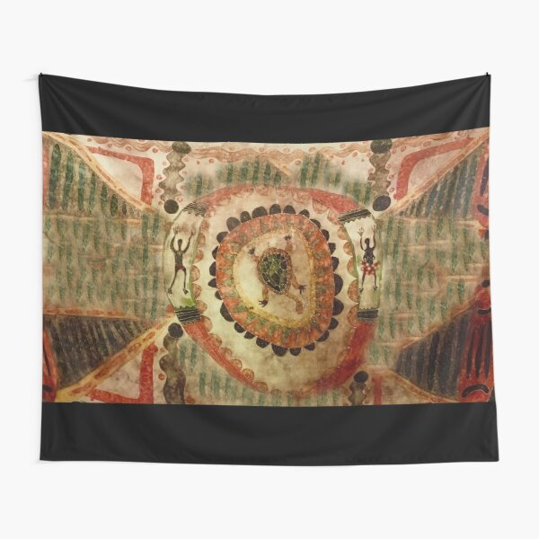 Tribal Freshwater turtle  Tapestry