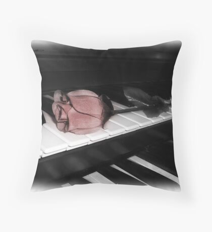 scented melodiies... Throw Pillow