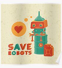 Save robots Poster