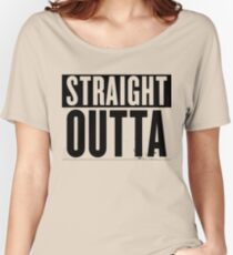 straight Women's Relaxed Fit T-Shirt