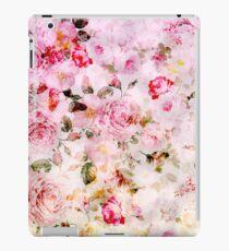 Vinilo o funda para iPad Patrón de acuarela en colores pastel rosa vintage