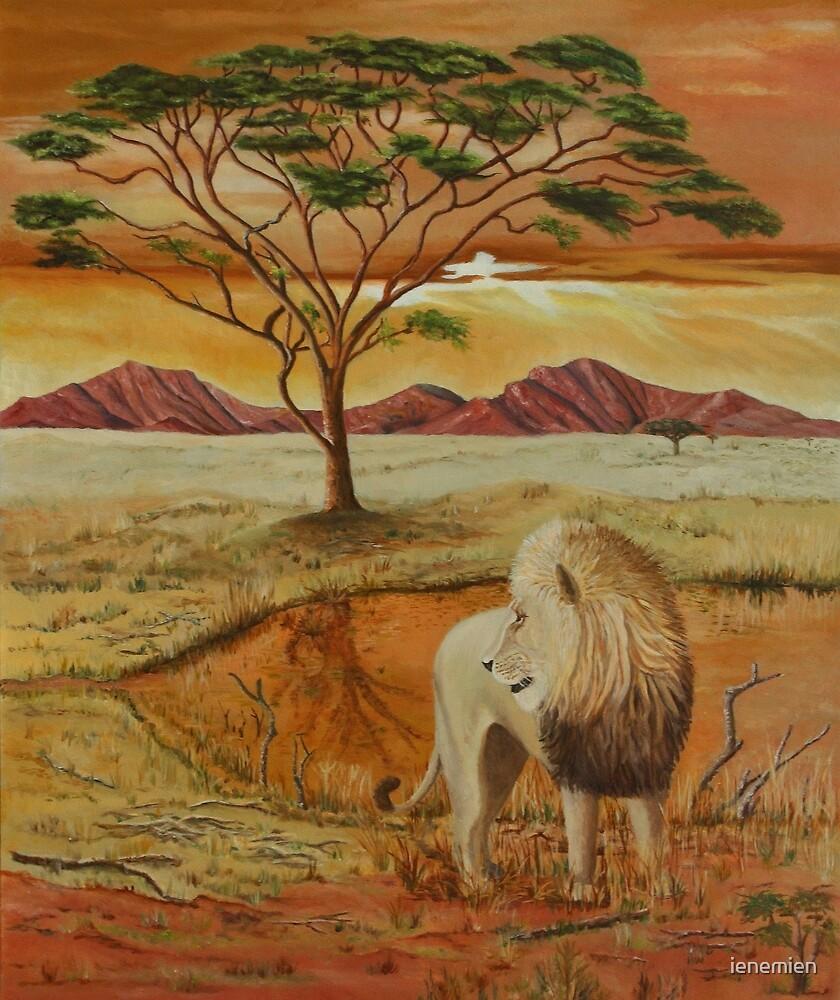 Painting *Leo* by ienemien