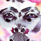 Psychedelischer Affe von Aurora Gritti