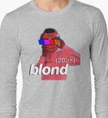 Frank Ocean Blond Helmet Logo Long Sleeve T-Shirt