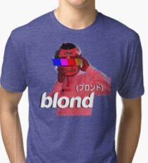 Frank Ocean Blond Helmet Logo Tri-blend T-Shirt