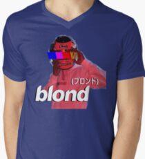 Frank Ocean Blond Helmet Logo Men's V-Neck T-Shirt