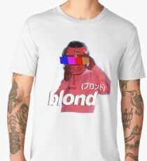 Frank Ocean Blond Helmet Logo Men's Premium T-Shirt