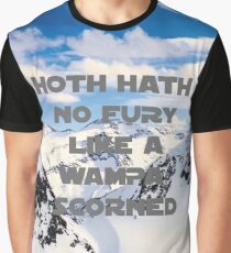 HOTH HATH NO FURY LIKE A WAMPA SCORNED Graphic T-Shirt