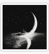 Arrival At Moonlight Sticker