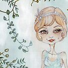 Daisy Fay Buchanan - The Great Gatsby by balgrittella
