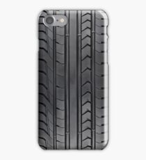 Tyre section of a super car race iPhone Case/Skin