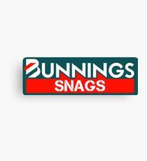 Bunnings Snags Canvas Print