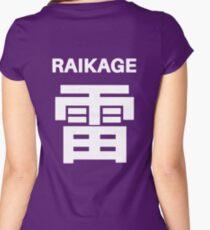 Raikage Kumo Symbols Women's Fitted Scoop T-Shirt
