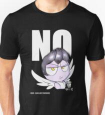 """NO"" by IlaxB. Unisex T-Shirt"
