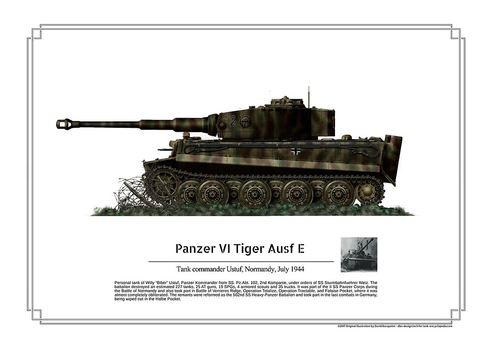 Tiger ausf E Willy Ustuf