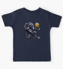 Super Metroid Grey Chozo Kids Clothes