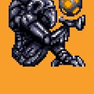 Super Metroid Grey Chozo von DukeJaywalker