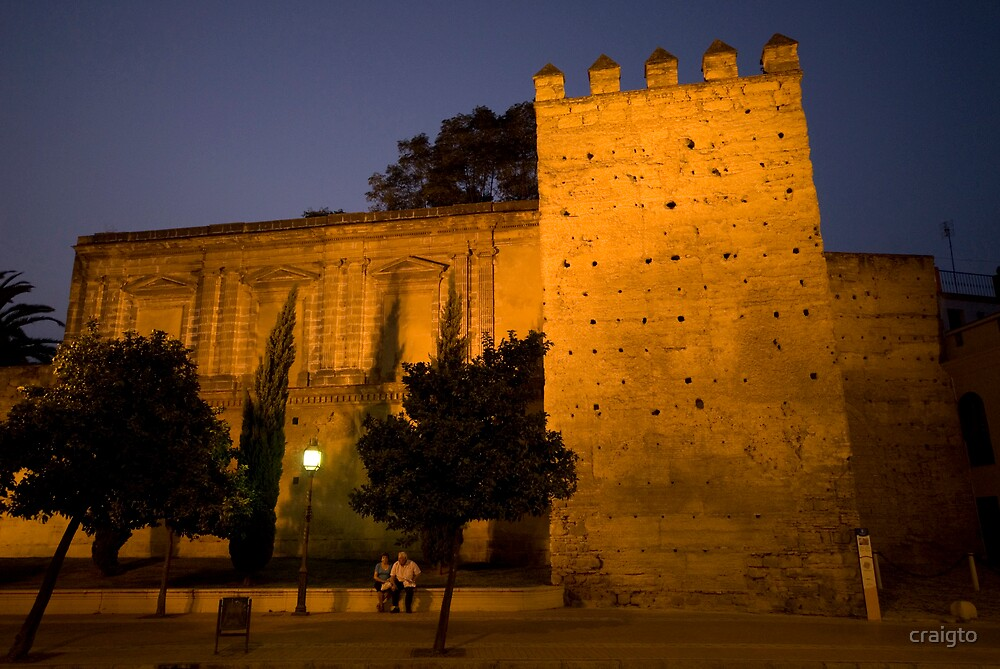 Dusk at The Castille in Jerez. by craigto