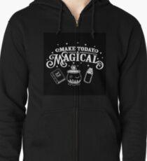 Make Today Magical  Zipped Hoodie