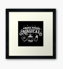 Make Today Magical  Framed Print