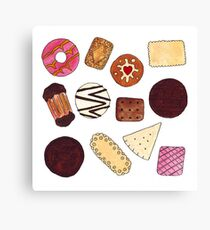 I love Biscuits! Canvas Print