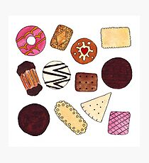 I love Biscuits! Photographic Print