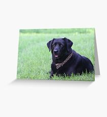 Portrait of Lucy Greeting Card