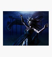 Woman under water Photographic Print