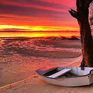 Bribie Boat by Annette Blattman