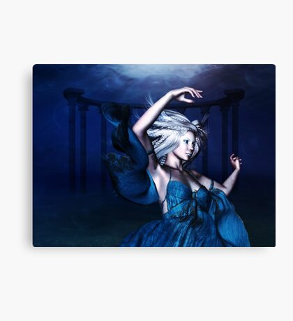 Woman under water 2 Canvas Print