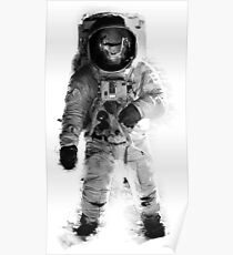 Space monkey Poster