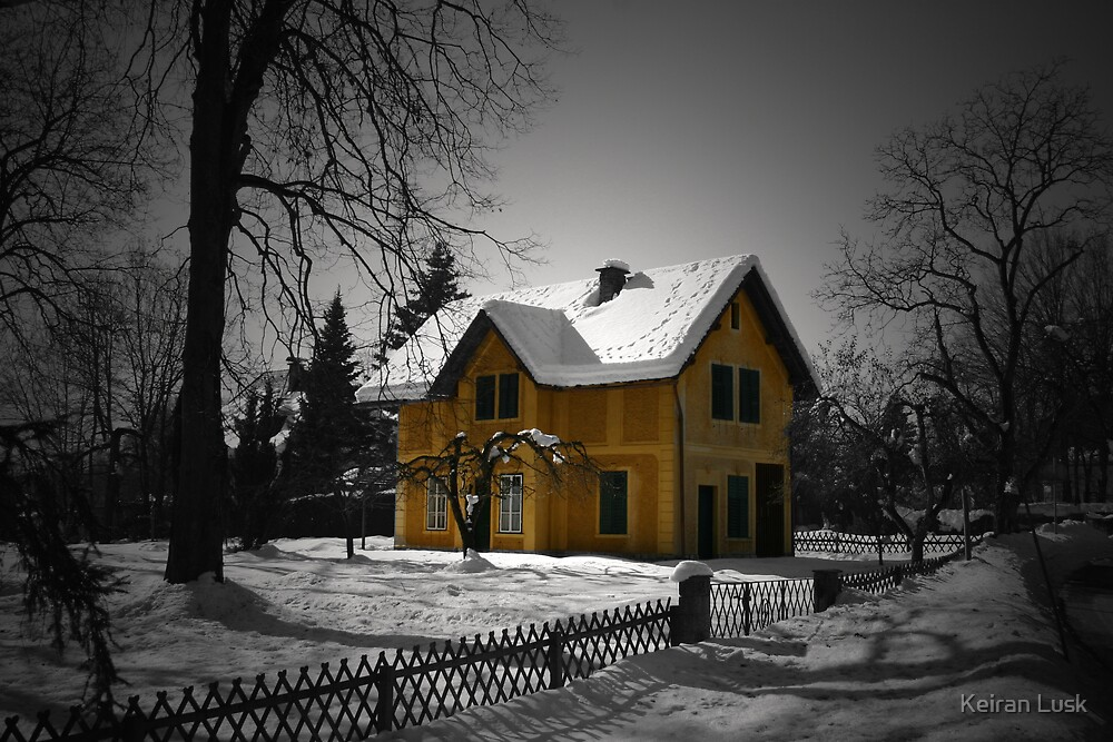 The Gingerbread House by Keiran Lusk