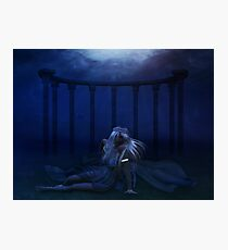 Woman under water 4 Photographic Print